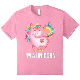 Pink Unicorn Shirt For Girls