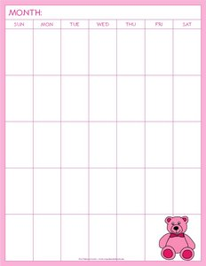 blank-calendar-pages-to-print-free-pink-teddy-bear-c