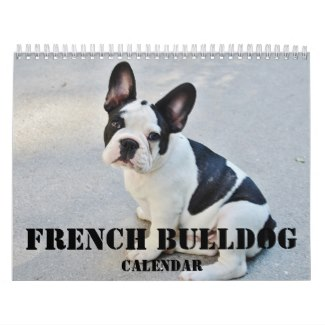 french bulldog calendars 2016