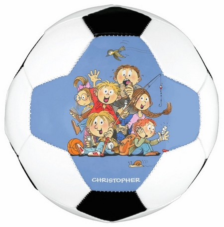 custom soccer ball with pictures