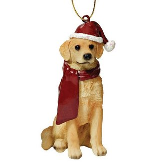 best golden retriever ornament