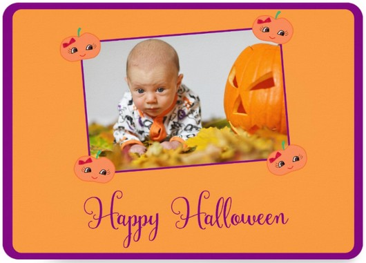 halloween greeting card for kids