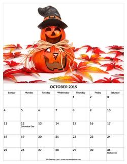 Gallery For &gt Halloween October Calendar 2013 - October Halloween Calendar