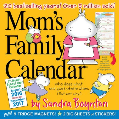 busy mom planner 2017