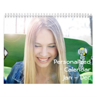 personalized calendar january december