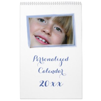 photo personalized calendar