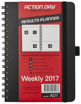 2017 daily planner