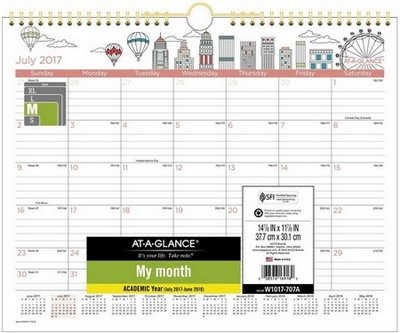 school year calendar at a glance 2018
