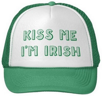 st patricks day hat personalized
