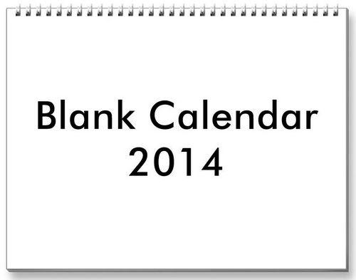 500 x 393 jpeg 15kB, 2014 Blank Calendar December/page/2 | New ...