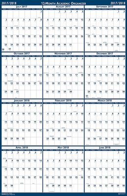 academic year planner 2017 2018