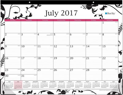 blue sky academic year planner 2017 18