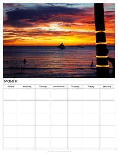 blank-printable-calendar-sunset