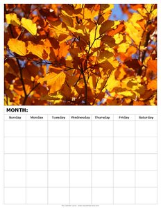 free-blank-calendar-fall-leaves