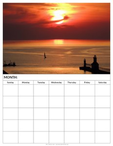 printable-blank-calendar-lake-michigan