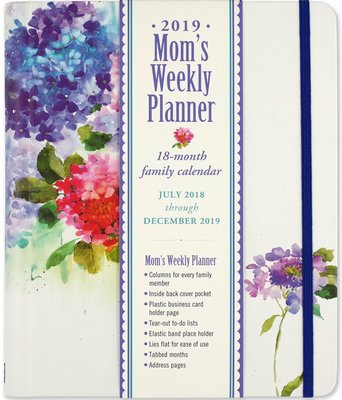 family weekly planner 2019
