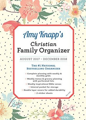 monthly family planner calendar christian 2018