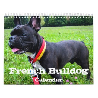 french bulldog calendar