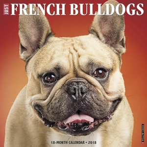 frenchie calendar 2018