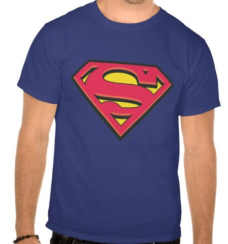 superman t shirt licensed high quality