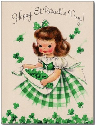 st patrick day vintage postcards