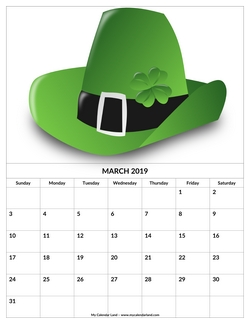 march 2019 st patrics day
