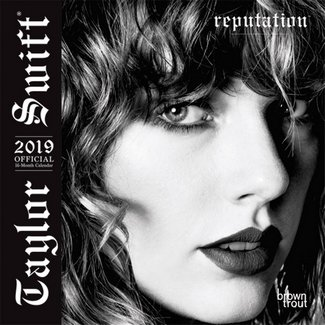 taylor swift 2019 monthly mini wall calendar