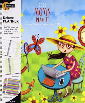mom weekly planner 2019