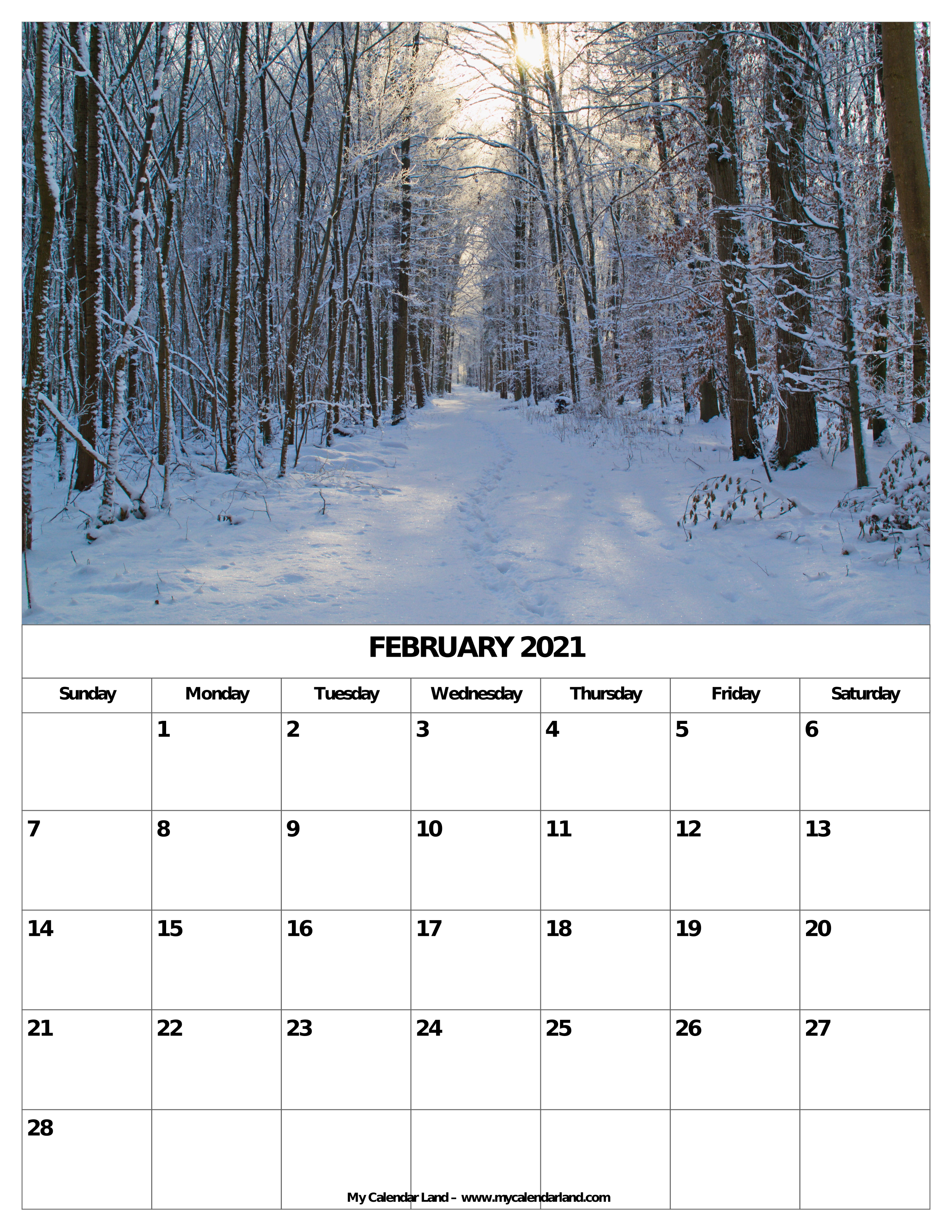 February 2021 Calendar Valentine 039 S Day Valentine 039 S Day Along With Chocolate
