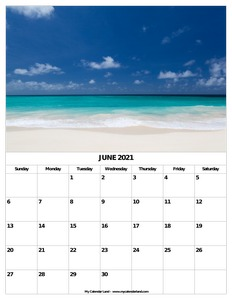 month of june calendar c