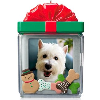 dog christmas tree ornaments