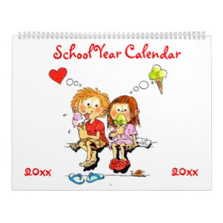 personalized school year calendar