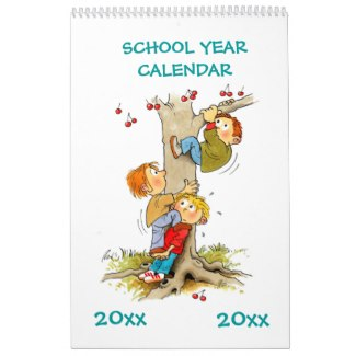 school year calendar editable